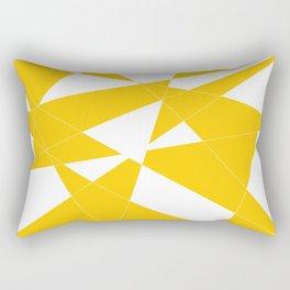 yellow diamond Rectangular Pillow