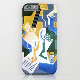 """Juan Gris """"Still life with fruit peel and mandolin"""" iPhone Case"""
