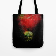 skull in the shadow Tote Bag