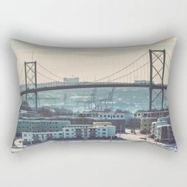 Abandoned Neighbourhood Rectangular Pillow