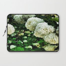 white hyacinth  Laptop Sleeve