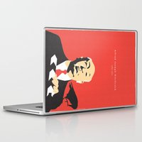hitchcock Laptop & iPad Skins featuring Hitchcock by berg with ice
