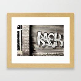 Graffiti Door Framed Art Print