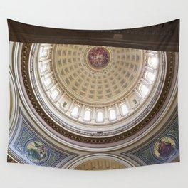 Wisconsin Capitol Building Rotunda 1 Wall Tapestry
