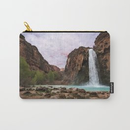 Havasu Waterfall in a Desert Carry-All Pouch