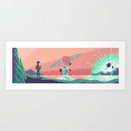 Cosmic - Gravitate Art Print