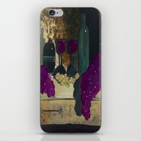 wine iPhone & iPod Skins featuring Wine by Cre8tive Canvas by Amanda