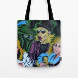 Faces of Tom Petty Tote Bag