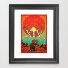 Vintage FF Poster XIV Framed Art Print