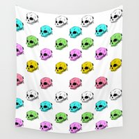 sarcasm Wall Tapestries featuring Dripping With Sarcasm by zombieCraig