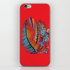 Which Came First? The Indigo or the Egg? iPhone Skin