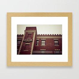 Cocoa Building @ Ghirardelli Square in San Fransisco Framed Art Print
