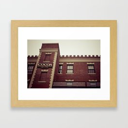 Cocoa Building @ Ghirardelli Square in San Fransisco Framed Art Print