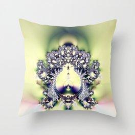 Fractal Sconce Throw Pillow