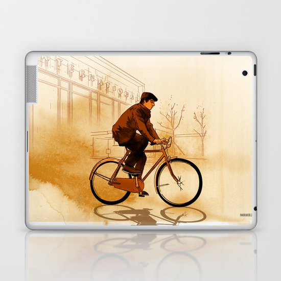 The Biker Laptop & iPad Skin