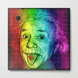 It's LSD, Einstein! Metal Print