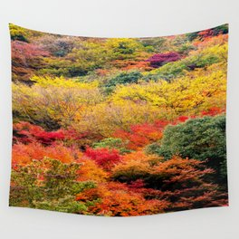 Autumn Forest Wall Tapestry