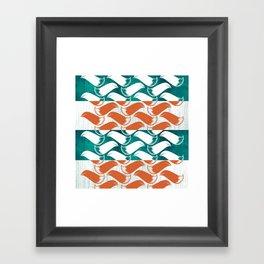 Foxhatched Framed Art Print