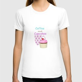 Coffee And Cupcakes T-shirt