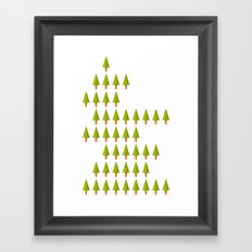 X-Mass Rockerts Framed Art Print