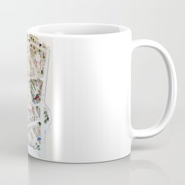 Greenwich Village Map by Harlem Sketches Coffee Mug