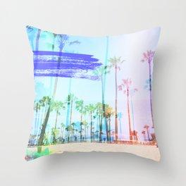 Lollipop Palms Throw Pillow