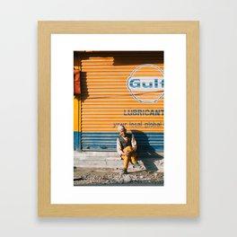 Nepali Man Framed Art Print