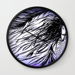 Spirit in the wind- Wall Clock