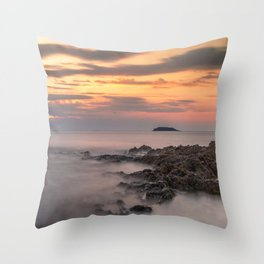 Seaside 12 Throw Pillow