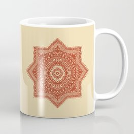 The Red Moroccan Pattern Coffee Mug