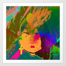 Rihanna Chibi Art Print