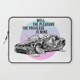 The Pleasure, The Privilege Laptop Sleeve
