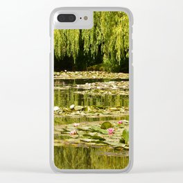 Water-Lilies at Giverny Clear iPhone Case