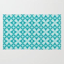 Abtsract Circles - Ocean Pattern Rug