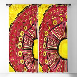 Sunflower Summer Blackout Curtain