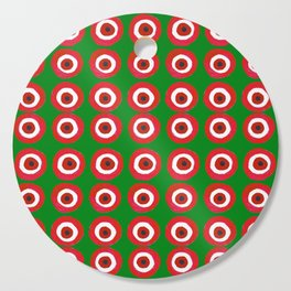Christmas Evil Eye Cutting Board