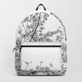 Cherry Blossoms (Black and White) Backpack