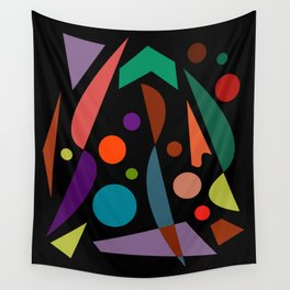 Abstract #306 String Trio Wall Tapestry