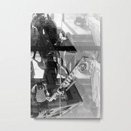 Little Italy Analog Metal Print