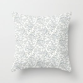 Winter Leaves 10 Throw Pillow