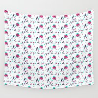 crab Wall Tapestries featuring Crab by Ewelina Gaska