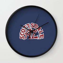 Scottsdale AZ Wall Clock