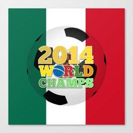 2014 World Champs Ball - Mexico Canvas Print