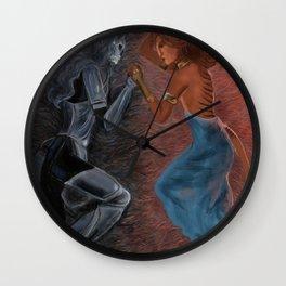 Mors Certa Vita Incerta Wall Clock