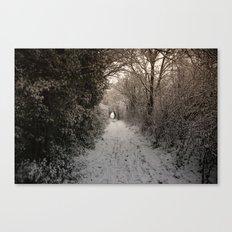 A Winter Walk In Kent Canvas Print