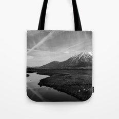 Black and White Nevada Tote Bag