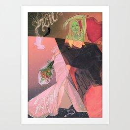 Kill, F-CK, Marry Art Print
