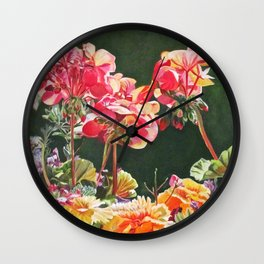 Noon Time in Wales Wall Clock
