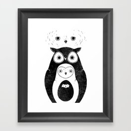 Owlnion Framed Art Print