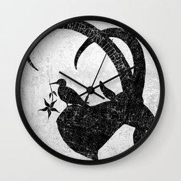 Ebon Ibex Logo Wall Clock